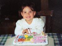 Cassie & her 3rd BDay Cake